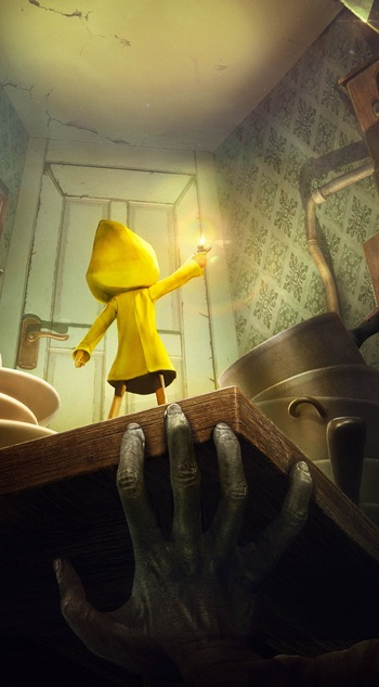 Little Nightmares Nightmarefuel Tv Tropes
