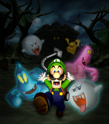 Luigi S Mansion Video Game Tv Tropes