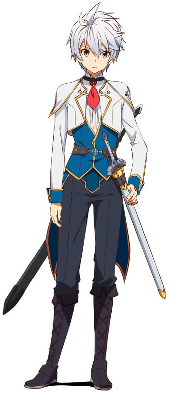Anime Character Design Tropes : Undefeated bahamut chronicle characters tv tropes