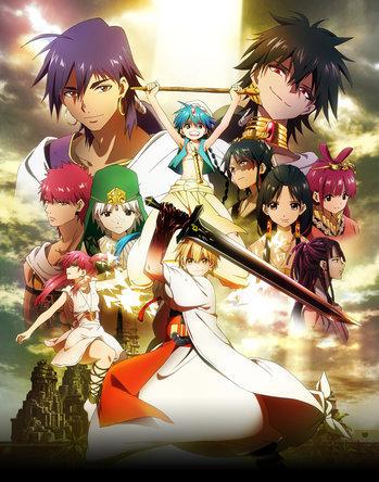 Magi The Labyrinth Of Magic Hakuei