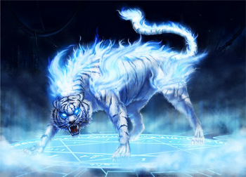 Lions and tigers and blue fire , oh my!