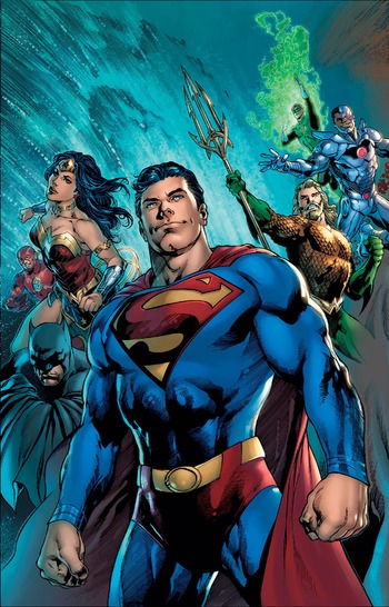 Man of Steel (2018) (Comic Book) - TV Tropes