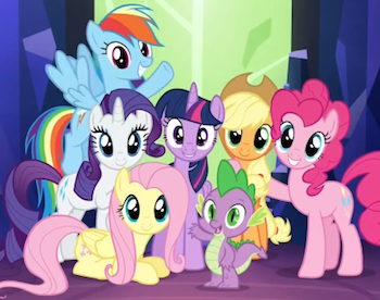 Friendship Is Magic The Mane Cast Characters Tv Tropes
