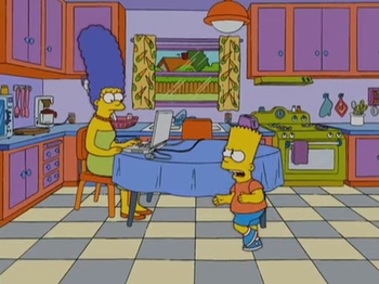 an analysis of the simpsons a television show A blend of slapstick and fantasy, seth macfarlane's family guy -- resurrected for network broadcast after being cancelled and then becoming a huge hit on dvd -- is a tv show within a tv show.