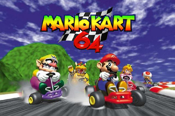 Mario Kart 64 Video Game Tv Tropes