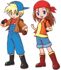 Harvest Moon: Island of Happiness / Characters - TV Tropes