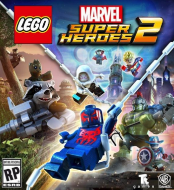 LEGO Marvel Super Heroes 2 contains examples of the following tropes: