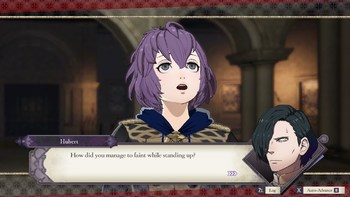 Fire Emblem Three Houses Funny Tv Tropes Blue lion house is one of the three houses that can be chosen in fire emblem: fire emblem three houses funny tv