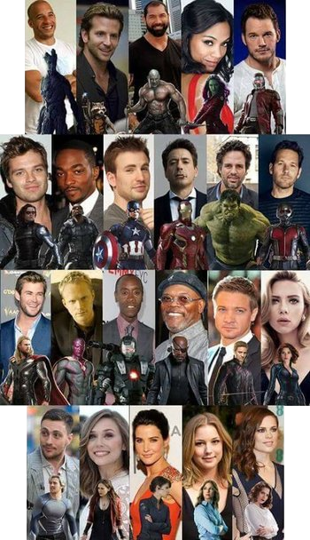 Marvel Cinematic Universe Actors / Useful Notes - TV Tropes