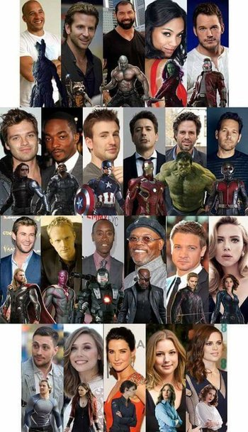 marvel cinematic universe actors useful notes tv tropes
