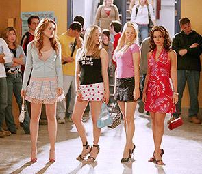Teens schools chick Blonde