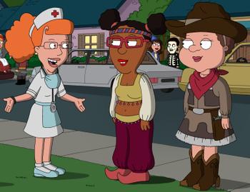 Beautiful interracial lesbians threesome with dirty talk tmb
