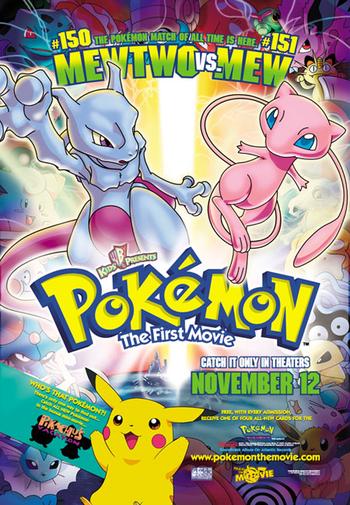 pok233mon the first movie anime tv tropes