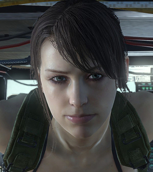 Characters In Metal Gear Solid V The Phantom Pain Quiet