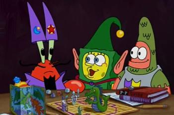 spongebob squarepants s 3 e 14 the great snail race mid
