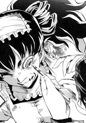 Anime Manga Eye Scream Tv Tropes