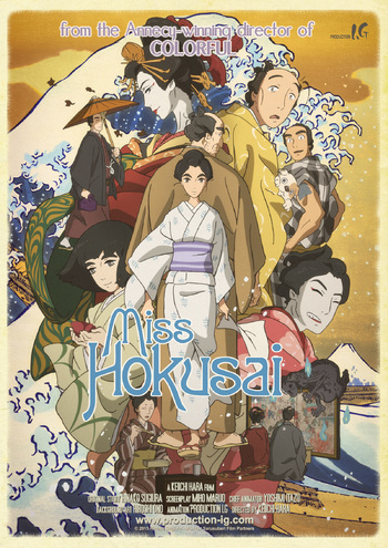 Miss Hokusai Anime Tv Tropes