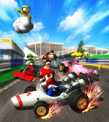 Mario Kart Ds Video Game Tv Tropes