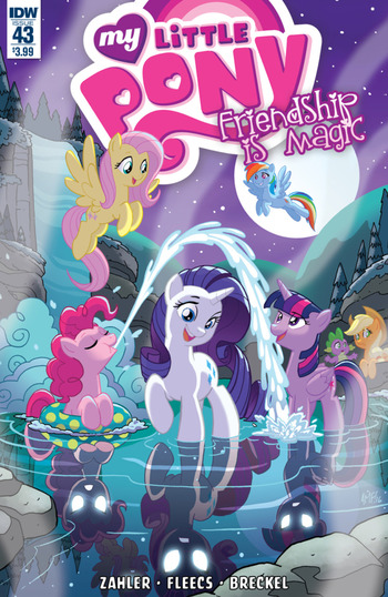 my little pony friendship is magic idw issue 43 to 45