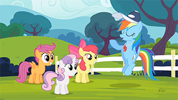 My Little Pony Friendship Is Magic S4 E5 Flight To The Finish Recap Tv Tropes An older, mellower scootaloo relocates to the crystal empire, tasked with tutoring a yakyakistan is a cold place, and scootaloo is starting to find that the chill is cutting deeper than she expected. little pony friendship is magic s4 e5
