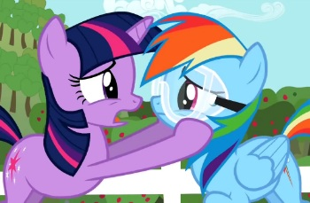 my little pony friendship is magic ho yay tv tropes