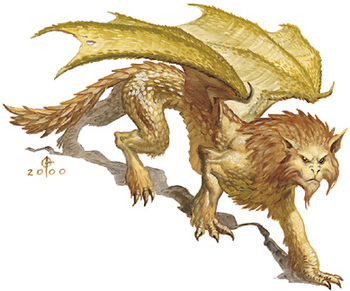 Cat-like Dragons - TV Tropes