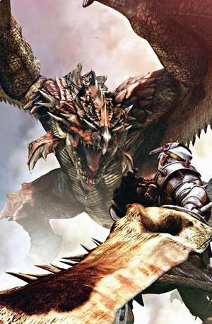 Monster Hunter Freedom на PSP.