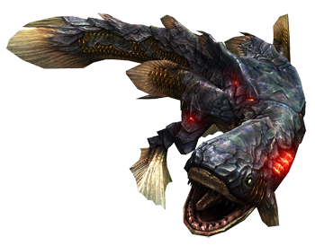 Monster hunter frontier monsters characters tv tropes for Piscine wyvern