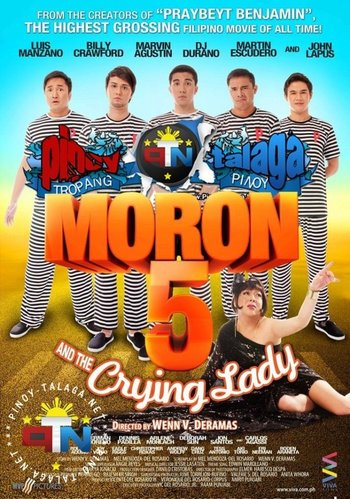 moron 5 and the crying lady characters