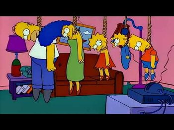 Treehouse Of Horror Nightmare Fuel Tv Tropes Eventually, your parents come in, saying they were doing some last minute shopping. treehouse of horror nightmare fuel