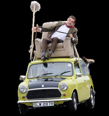 Mr Bean  Wheel Car