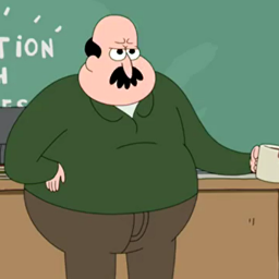 Short Fat Bald Cartoon Character | Adultcartoon.co