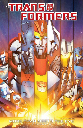 the transformers more than meets the eye comic book