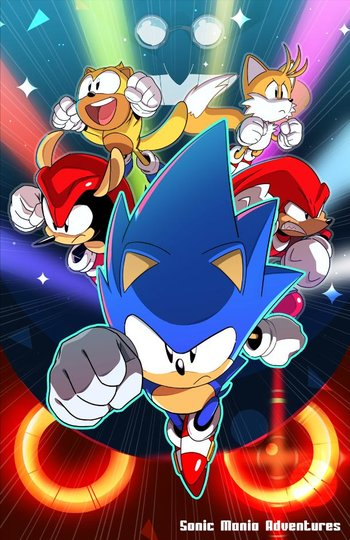 Sonic Mania Adventures Web Animation Tv Tropes
