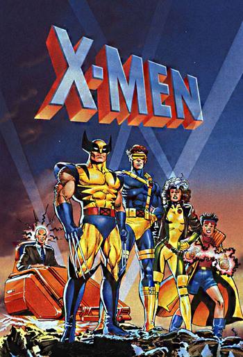 X Men Western Animation Tv Tropes