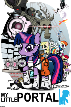 http://static.tvtropes.org/pmwiki/pub/images/my_little_portal_poster_by_christiancerda-d5ae7u5_2249.png