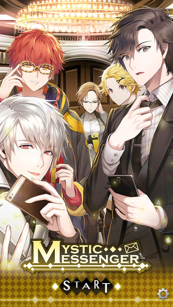 Mystic Messenger Visual Novel Tv Tropes