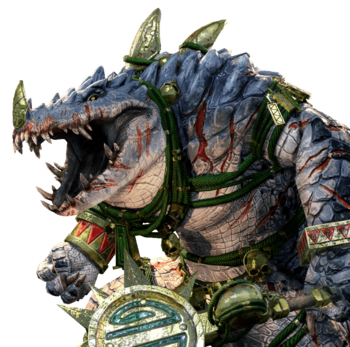 Total War Warhammer The Lizardmen Characters Tv Tropes Is he the eldest of the kroxigor ancients or the murderous spirit of the deepest jungle made flesh? total war warhammer the lizardmen