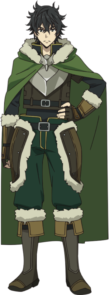 The Rising Of The Shield Hero Naofumi Iwatani Characters Tv Tropes Dragon armor or dragon set is a top tier hardmode melee armor / vanity set. the shield hero naofumi iwatani