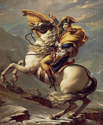 https://static.tvtropes.org/pmwiki/pub/images/napoleon_crossing_the_alps.jpg