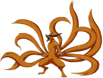 Naruto Tailed Beasts Characters Tv Tropes