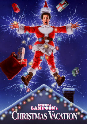 National Lampoon's Christmas Vacation DVD cover - much akin to a Clayton Christmas