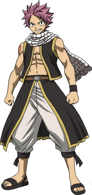 Anime Character Design Tropes : Fairy tail natsu dragneel characters tv tropes