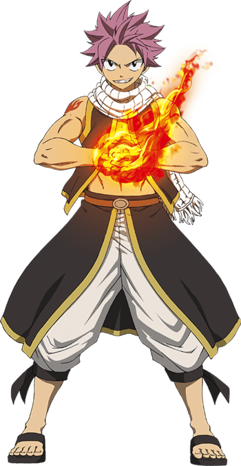 Fairy tail natsu dragneel characters tv tropes - Image de fairy tail natsu ...