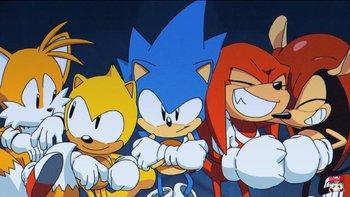 Sonic Mania / Heartwarming - TV Tropes