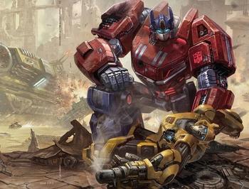 Transformers: Fall of Cybertron / Tear Jerker - TV Tropes