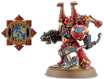 Warhammer 40000 Chaos Marines / Characters - TV Tropes
