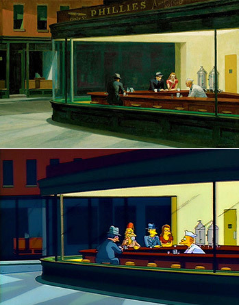 https://static.tvtropes.org/pmwiki/pub/images/nighthawks_simpsons.jpg