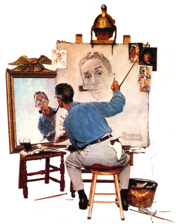 http://static.tvtropes.org/pmwiki/pub/images/norman-rockwell-triple-self-portrait-posters_7833.jpg