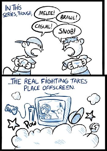 super smash bros broken base tv tropes